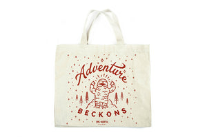 Adventure Beckons Little Yeti Tote