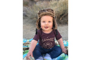 Little Desert Yeti - Adventure Beckons Onesie
