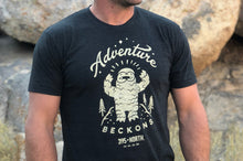 Mountain Yeti - Adventure Beckons T-shirt - Unisex/Men's
