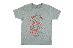Desert Yeti - Adventure Beckons T-shirt - Kid's