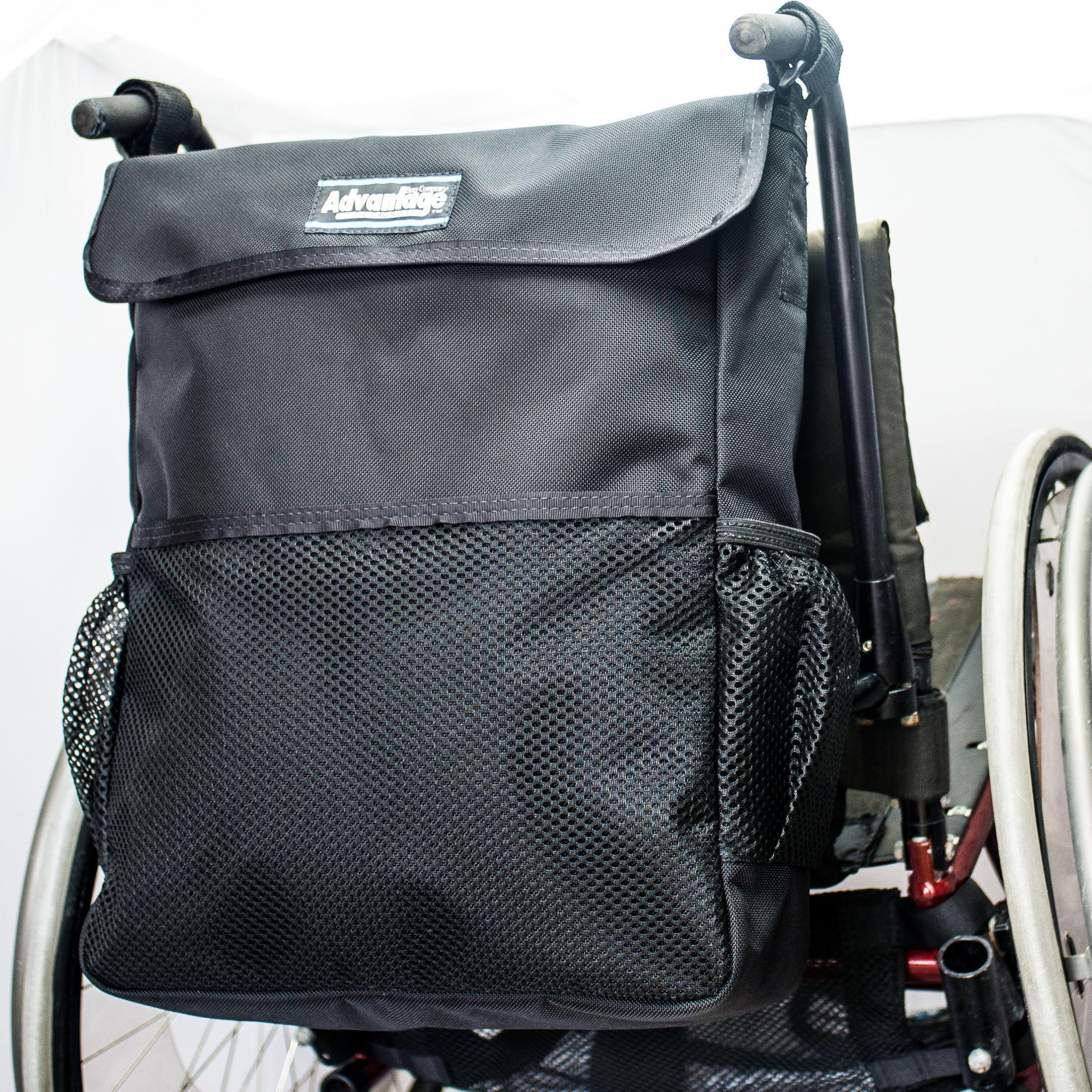 WH165DL Wheelchair Deluxe Long Bac Pac™
