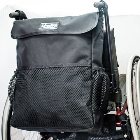 WH165Dl Wheelchair Deluxe Long Backpack Bag