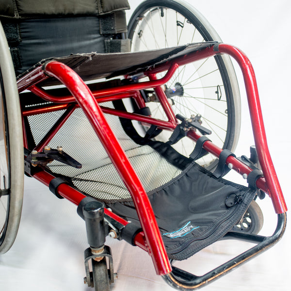 Wheelchair Mesh Cargo Net with Pocket, Wheelchair Bags