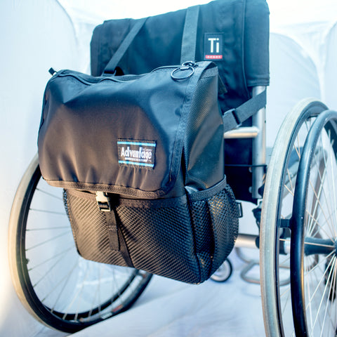 WH160 Wheelchair/Scooter Sports Pac™ With Optional Strap System™