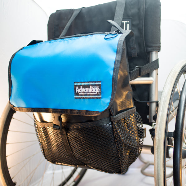 WH160 Wheelchair Scooter Sports Pac Bag Blue lid