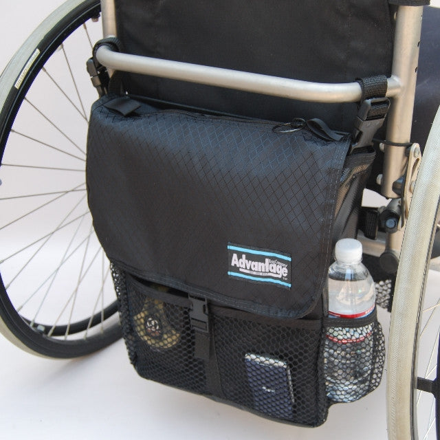 WH160 WHEELCHAIR/SCOOTER SPORTS PAC™ WITH OPTIONAL STRAP SYSTEM™ - Advantage Bag Company - 3