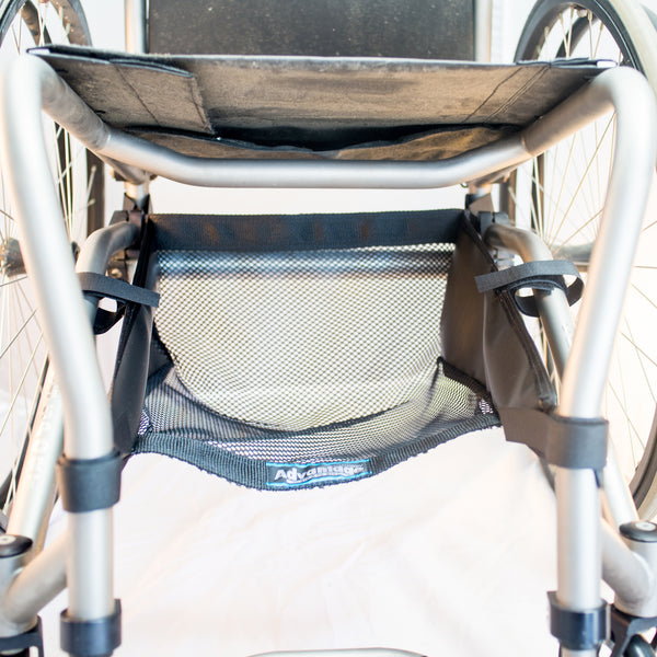 Front view WH190-2 Wheelchair unde seat net