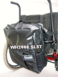 WH2000 WHEELCHAIR OR SCOOTER MILLENNIUM PAC™ - Advantage Bag Company - 2