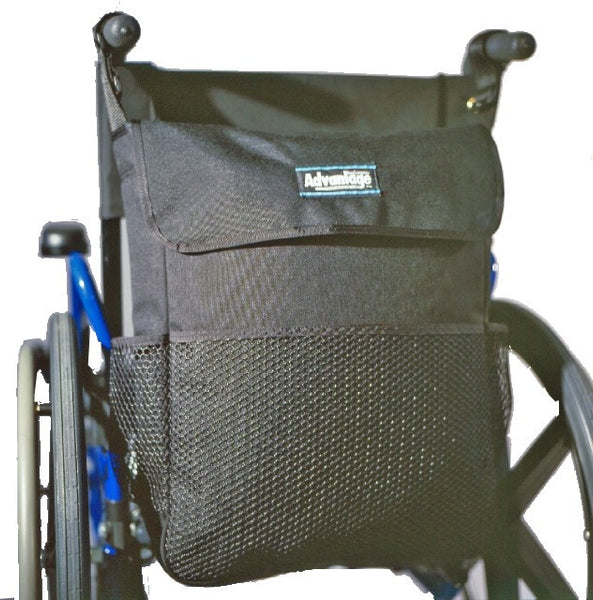 WH165DL WHEELCHAIR DELUXE LONG BAC PAC™ - Advantage Bag Company - 1