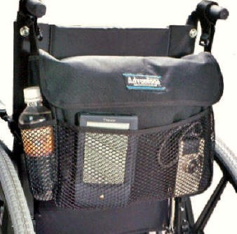 WH165DS  WHEELCHAIR DELUXE SHORT BAC PAC™ - Advantage Bag Company