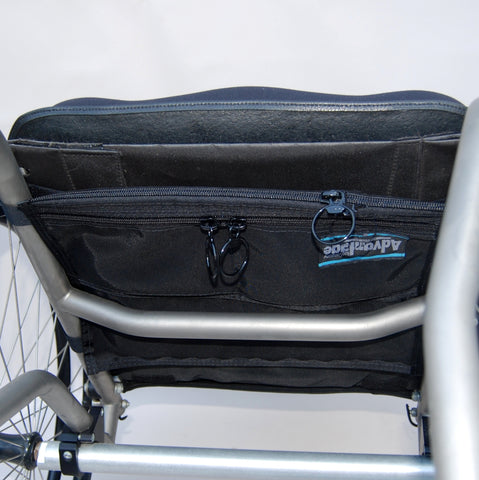 WH180  WHEELCHAIR FLAT PAC™ - Advantage Bag Company - 1