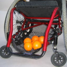 WH190 WHEELCHAIR CATCH ALLS™ -Wheelchair Cargo Net