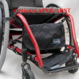 WS100 WHEELCHAIR/SCOOTER LARGE SIDE PAC™ - Advantage Bag Company - 3