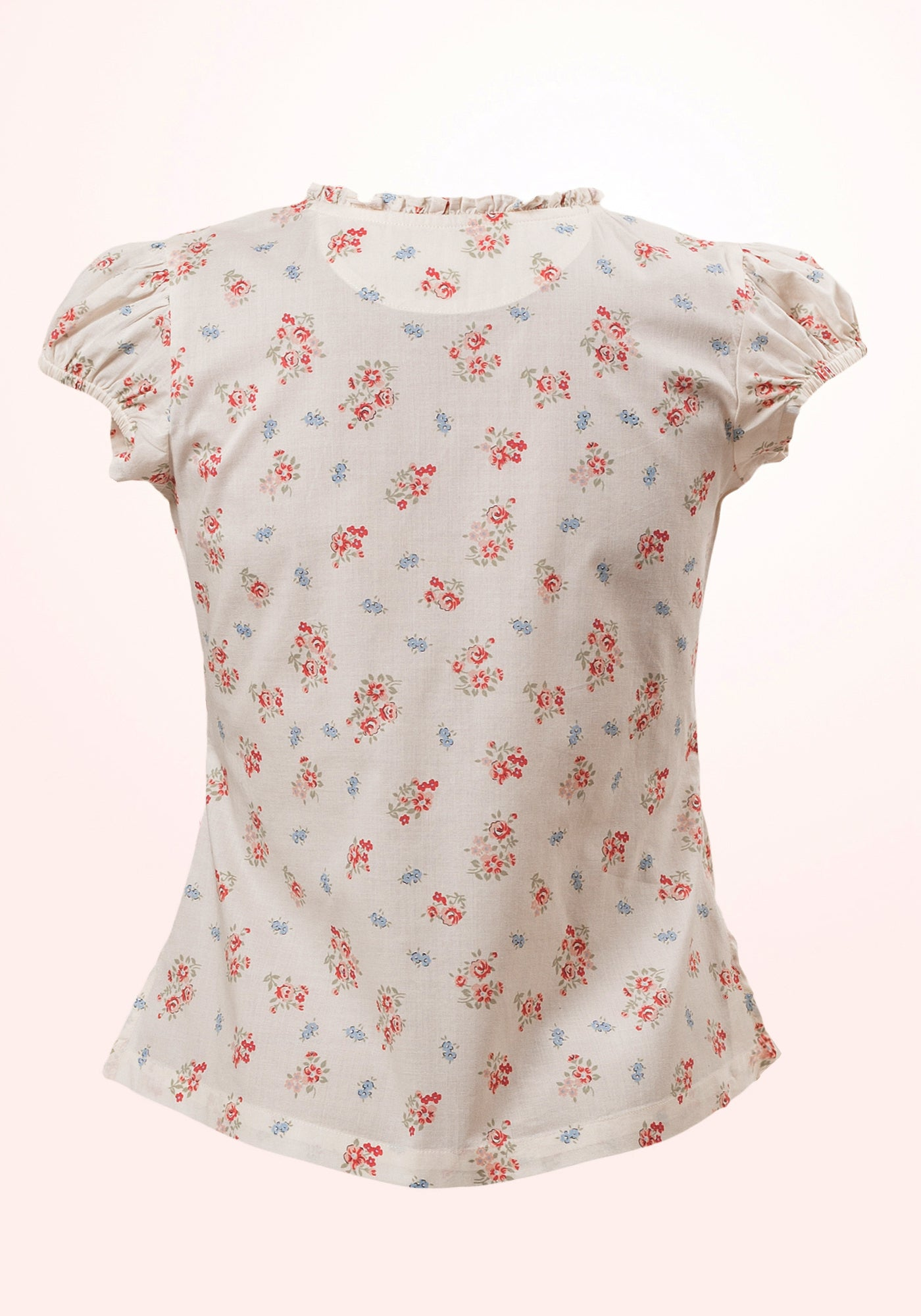 Summer Shower Girls Top in Printed Cotton - MINC ecofashion