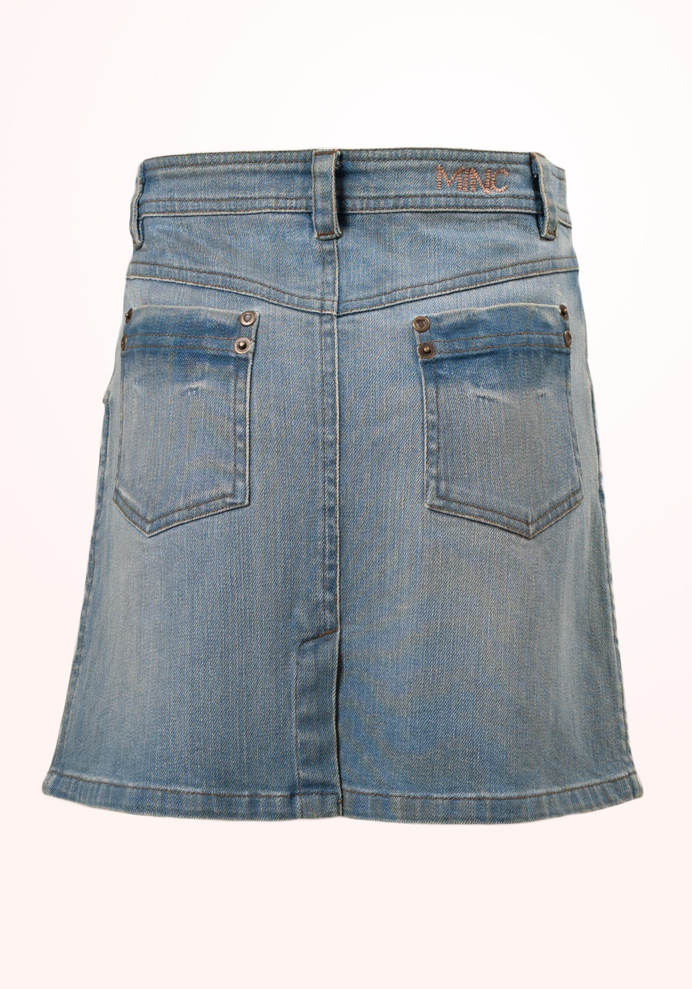 Texas Girls Skirt in Blue Denim - MINC ecofashion