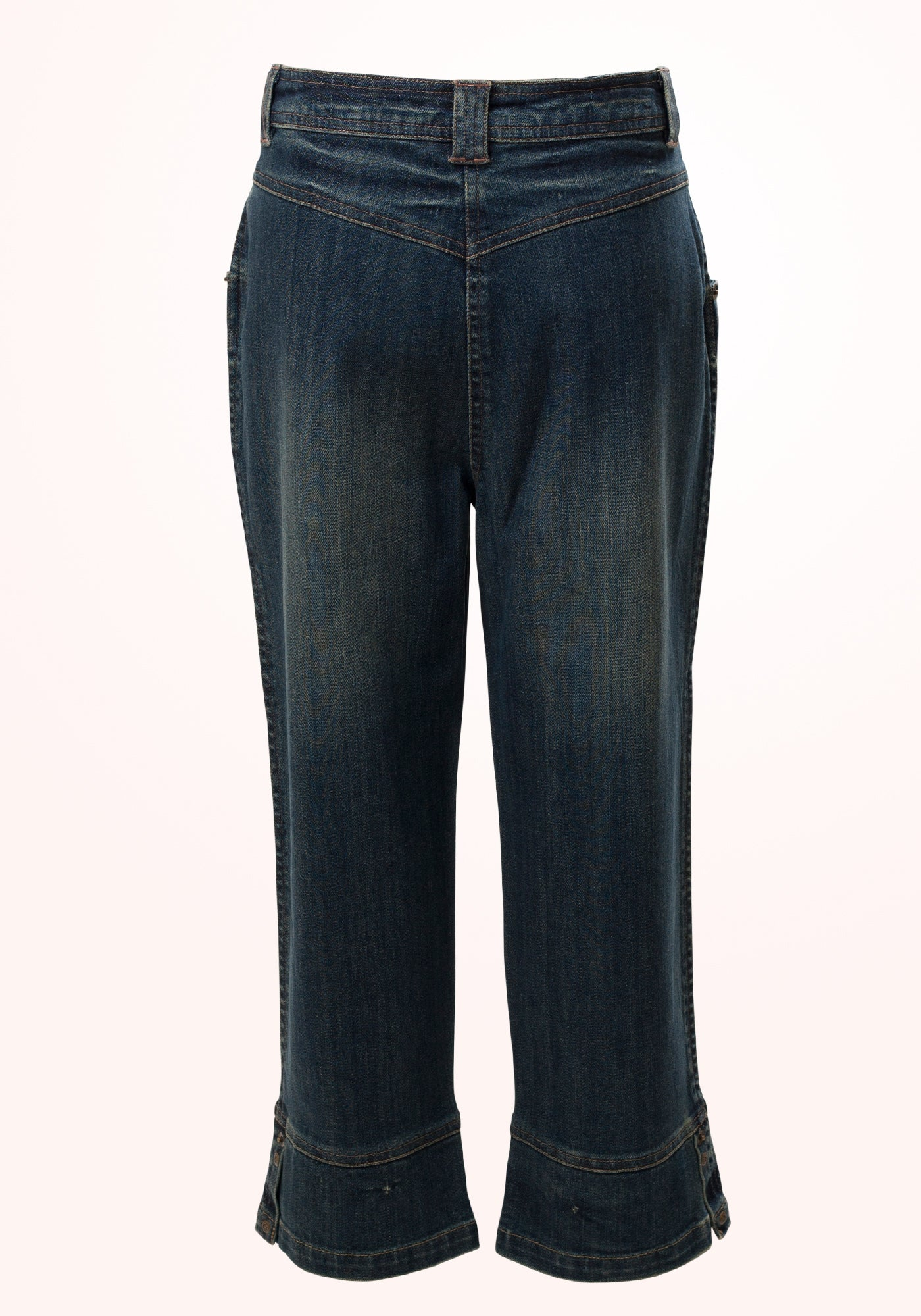 Thunderbolt Girls trousers in Blue Denim - MINC ecofashion
