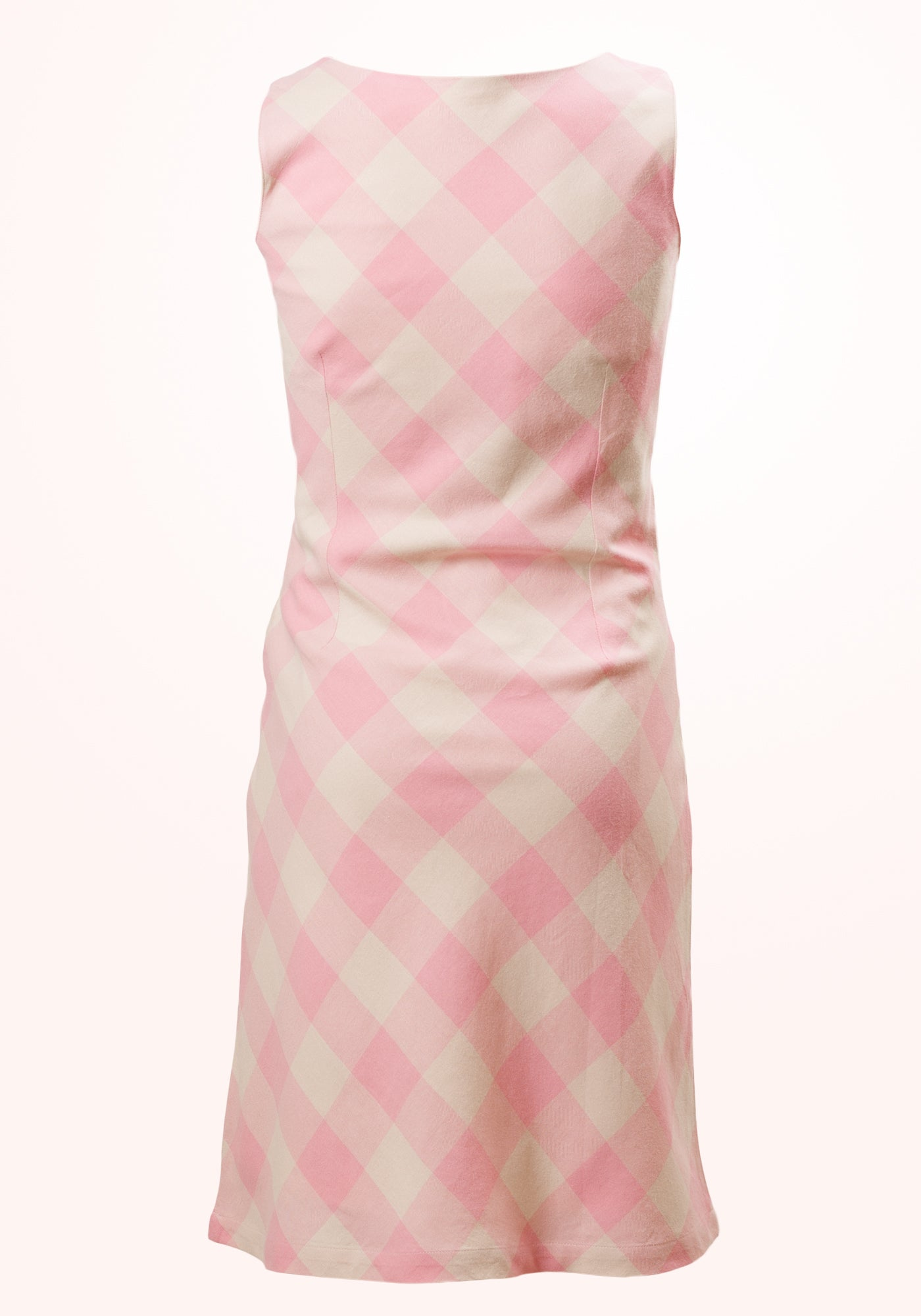 Peaches & Cream Girls Short Dress in Yarn Dyed Checks - MINC ecofashion