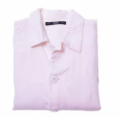 GIANFRANCO FERRE Boys Overjacket 7-8 Years White Linen