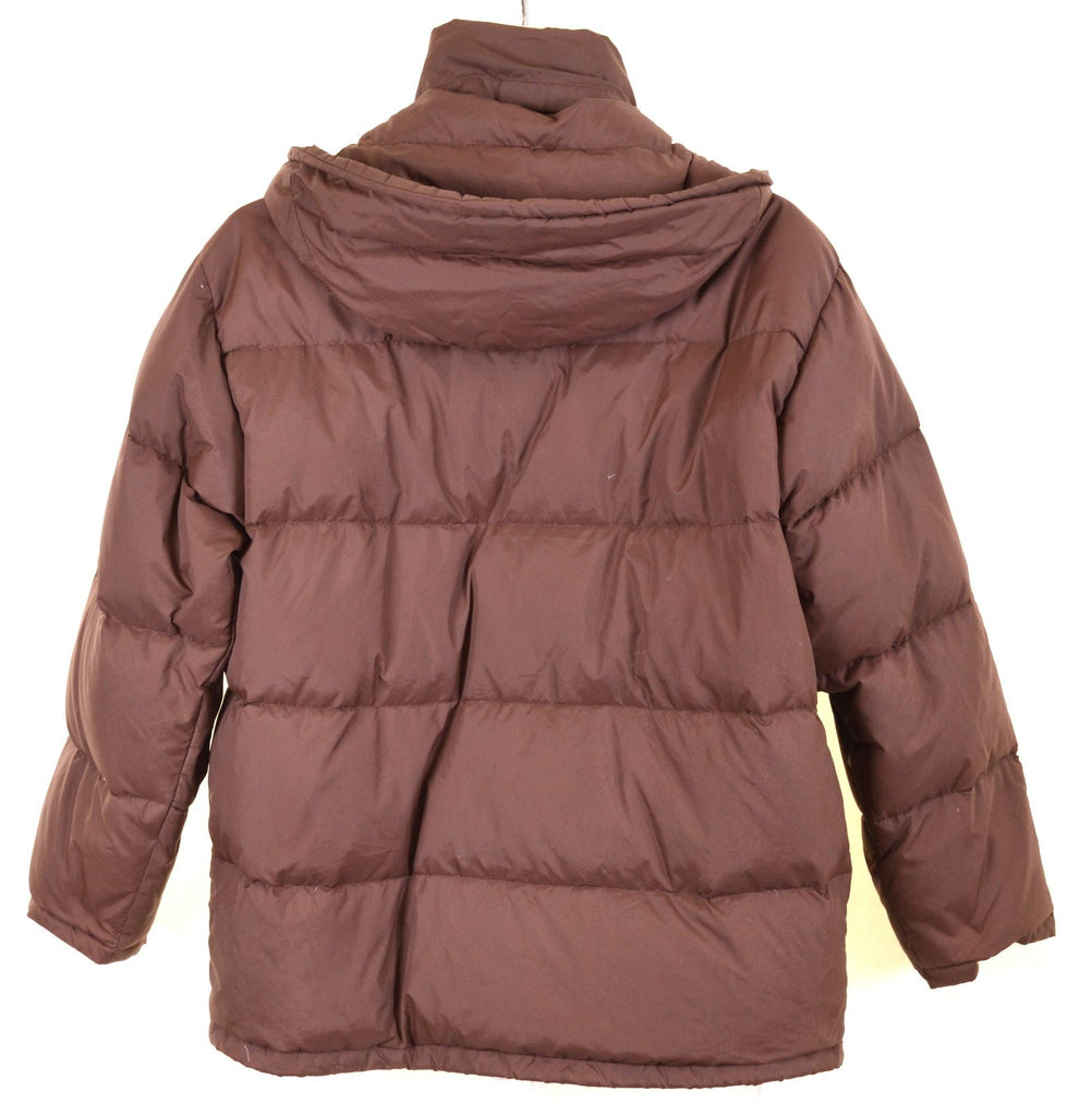 CHAMPION Boys Padded Jacket 13-14 Years Brown - Second Hand & Vintage Designer Clothing - Messina Hembry
