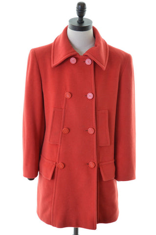 ELECTRE Womens Peacoat Size 16 Large Red