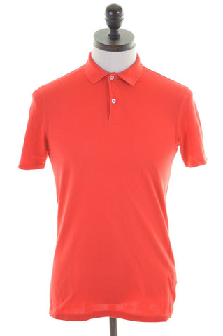 INESIS Mens Polo Shirt Small Red Cotton