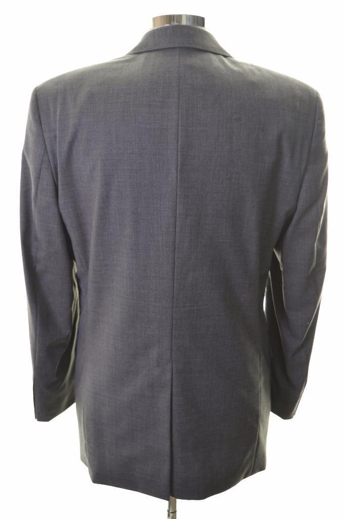 Hugo Boss Mens Blazer Jacket Size 40 Medium Grey New Wool Viscose - Second Hand & Vintage Designer Clothing - Messina Hembry
