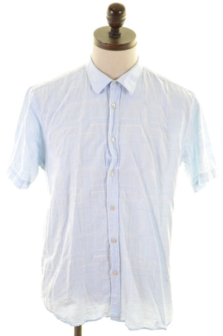 TED BAKER Mens Shirt Large Blue