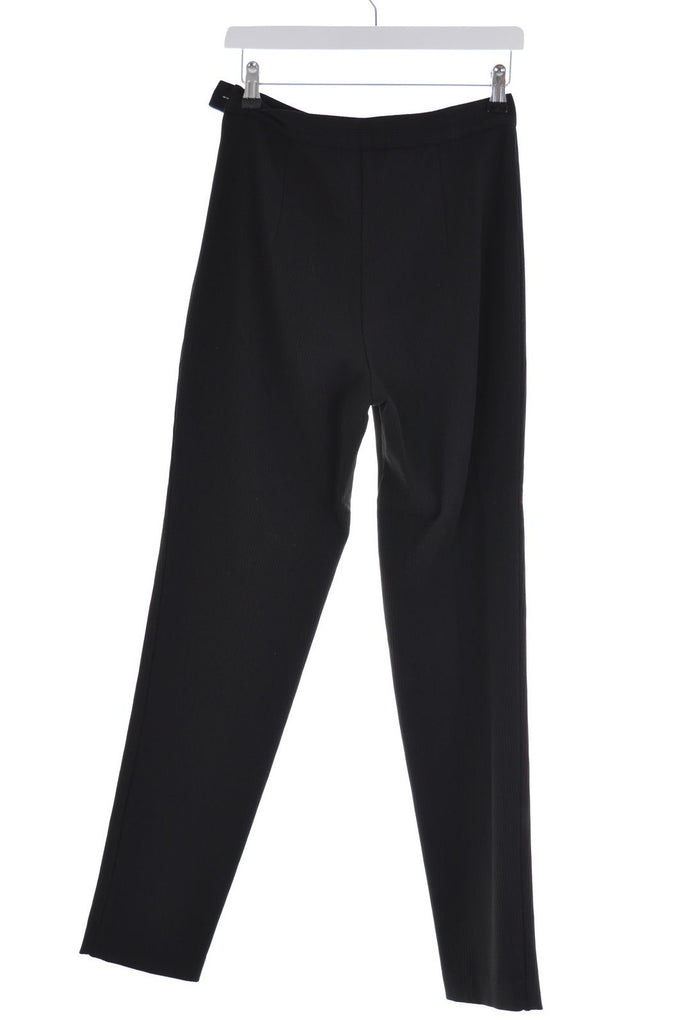 Gieffeffe Womens Trousers W27 L30 Black Skinny - Second Hand & Vintage Designer Clothing - Messina Hembry
