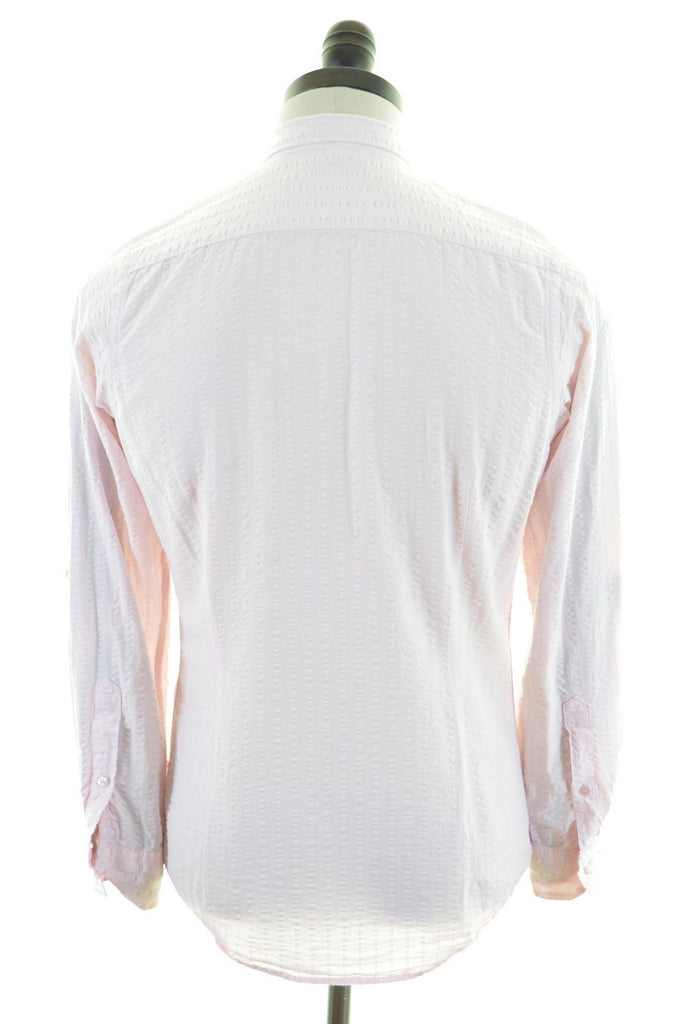 TED BAKER Mens Shirt Small Pink - Second Hand & Vintage Designer Clothing - Messina Hembry