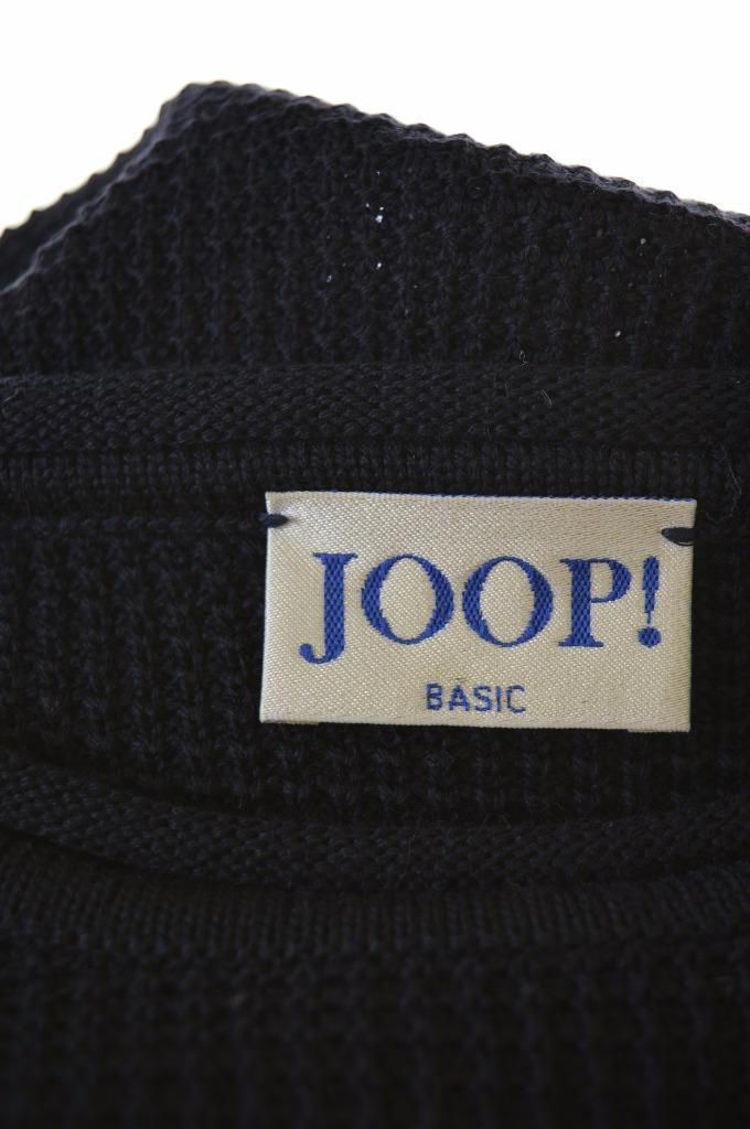 Joop Mens Jumper Sweater Size 50 Large Navy Blue Wool - Second Hand & Vintage Designer Clothing - Messina Hembry
