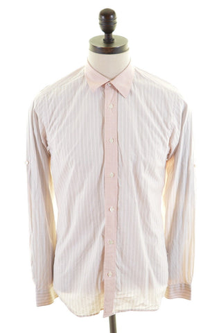 TED BAKER Mens Shirt Small Multi Stripes Cotton
