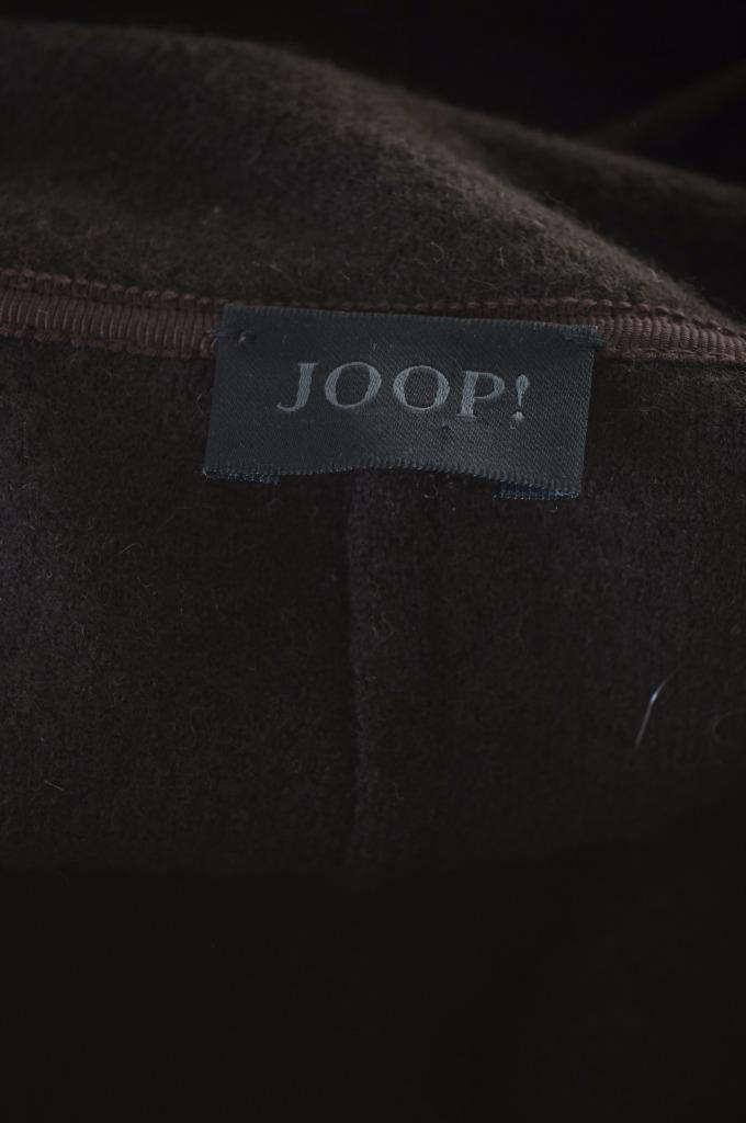 Joop Womens Blazer Jacket Size 36 Small Brown Wool - Second Hand & Vintage Designer Clothing - Messina Hembry
