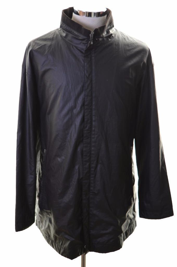 Pierre Cardin Mens Jacket Size 42 Large Black Polyester - Second Hand & Vintage Designer Clothing - Messina Hembry