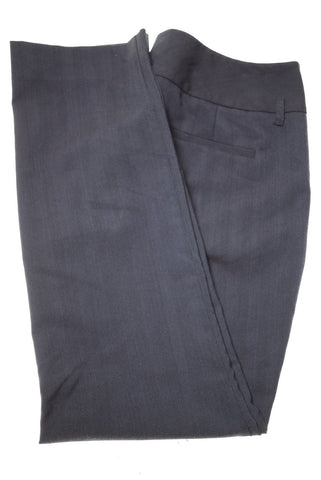 KENNETH COLE Womens Trousers W32 L29 Navy Blue Polyester