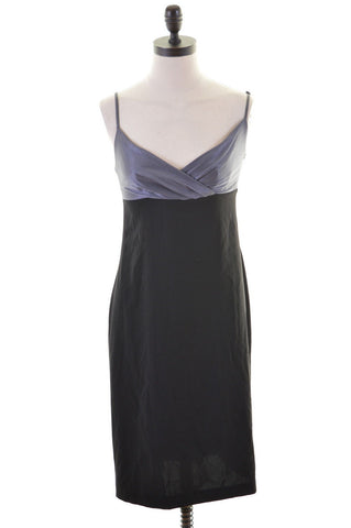 KAREN MILLEN Womens Dress Size 8 Small Black Polyester