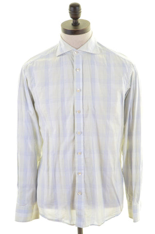 GANT Mens Shirt Medium Multi Check Cotton Regular Fit