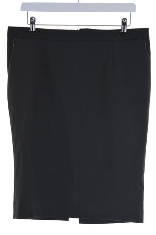 RICHMOND Womens Tube Skirt W32 L23 Black