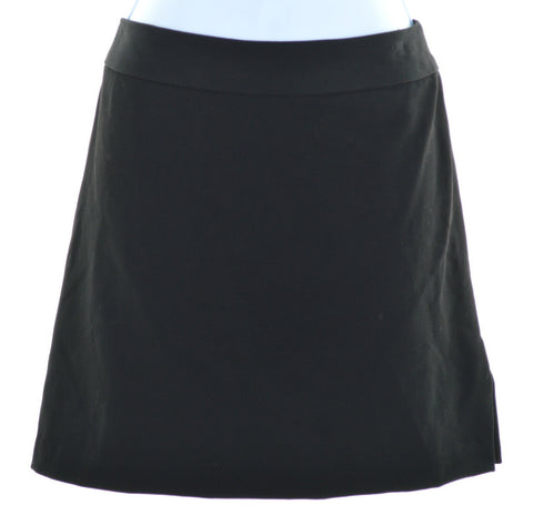 MAXAZRIA Womens Skirt W28 L16 Black Polyester