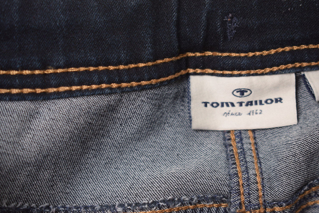 TOM TAILOR Boys Jeans Size 6 Large W26 L15 Blue Cotton - Second Hand & Vintage Designer Clothing - Messina Hembry