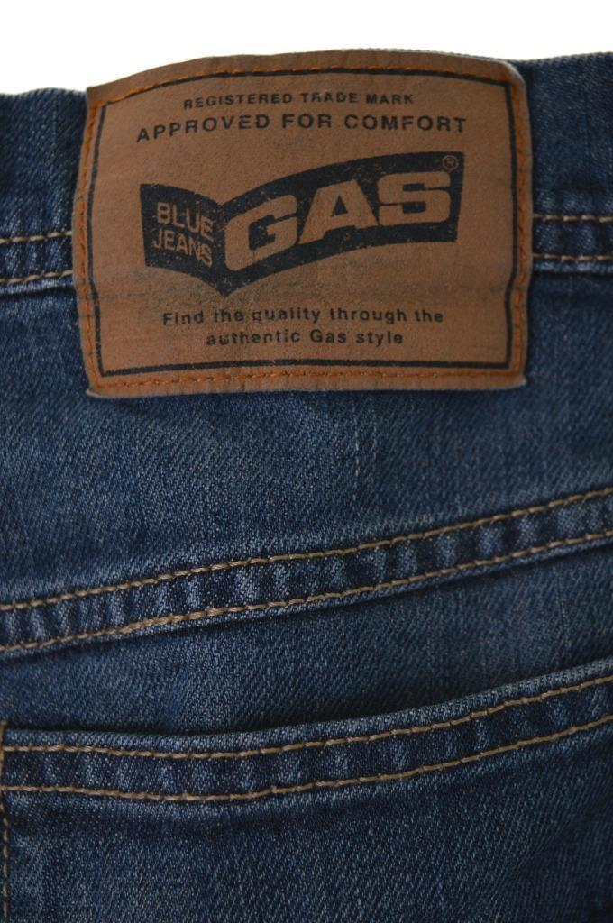 Blue Gas Jeans Womens Denim Skirt Medium W30 Blue Cotton Lycra - Second Hand & Vintage Designer Clothing - Messina Hembry