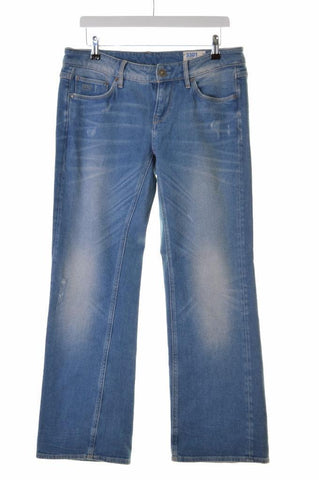 G-Star Womens Jeans W28 L30 Blue Cotton Flare