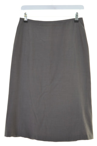 JIGSAW Womens Straight Skirt Size 10 Small W26 L26 Brown