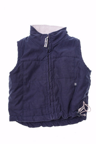 TIMBERLAND Boys Gilet Size 6 Mos Medium Navy Blue
