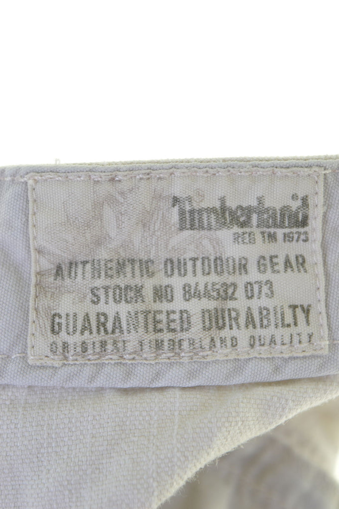TIMBERLAND Womens Jeans W32 L32 Grey Cotton Straight - Second Hand & Vintage Designer Clothing - Messina Hembry