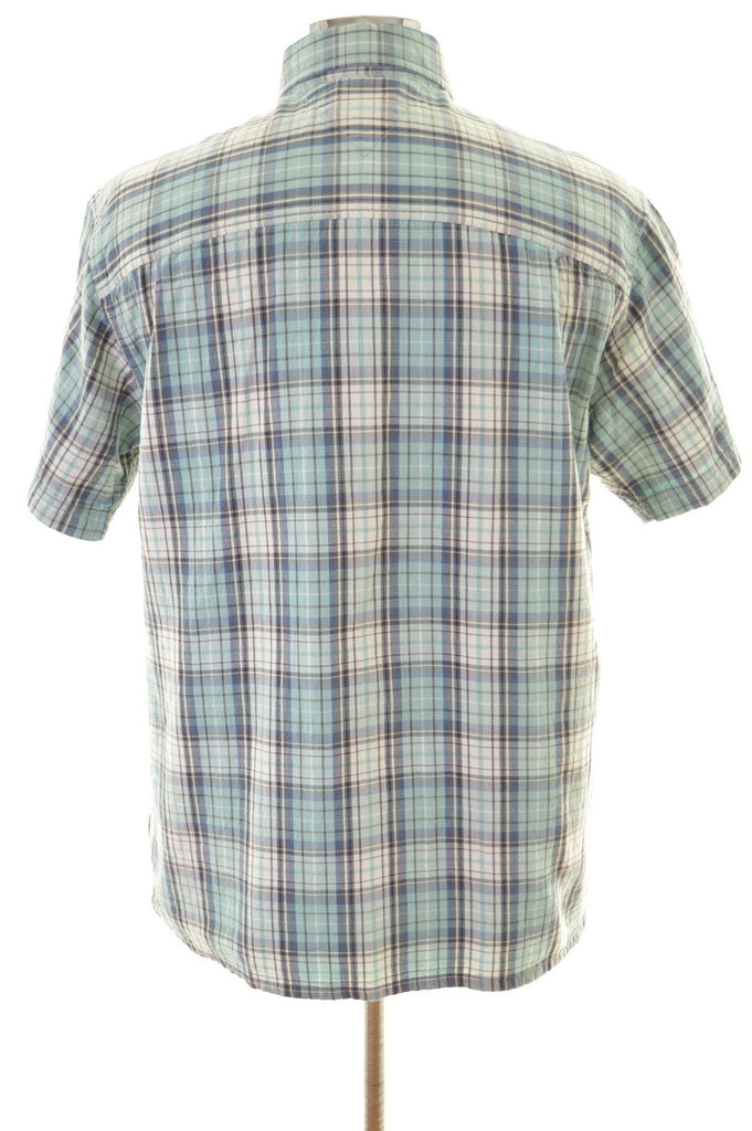 Tommy Hilfiger Mens Shirt Small Multi Check Cotton - Second Hand & Vintage Designer Clothing - Messina Hembry