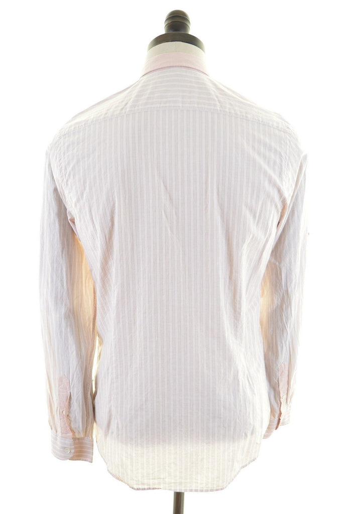 TED BAKER Mens Shirt Small Multi Stripes Cotton - Second Hand & Vintage Designer Clothing - Messina Hembry