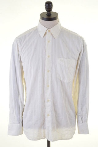 CARRERA Mens Shirt Small White Cotton