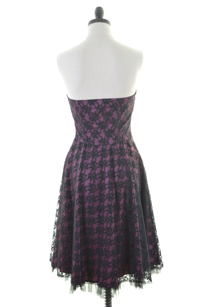 VERVE Womens Starpless Tulle Dress Size 10 Small Purple - Second Hand & Vintage Designer Clothing - Messina Hembry