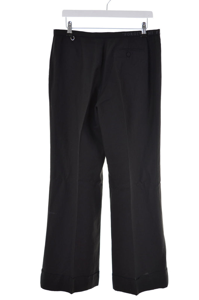 Richmond Womens Trousers W32 L32 Black Wide Leg - Second Hand & Vintage Designer Clothing - Messina Hembry