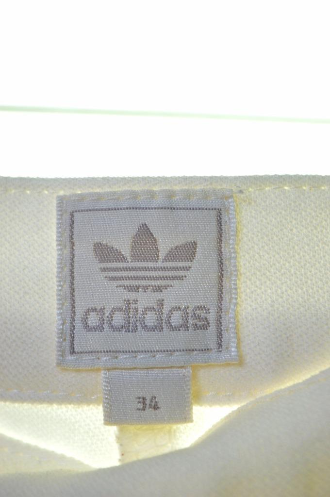 Adidas Womens Capri Shorts Size 34 6 XS W24 L17 White Polyester - Second Hand & Vintage Designer Clothing - Messina Hembry